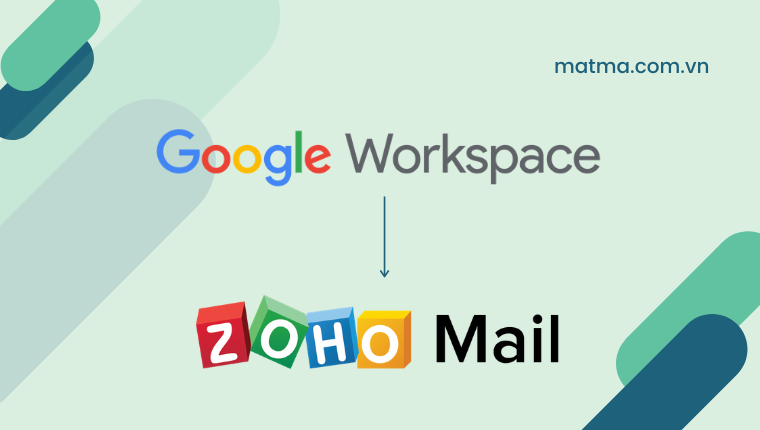 google workspace và zoho mail