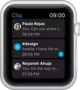 hỗ trợ Apple Watch