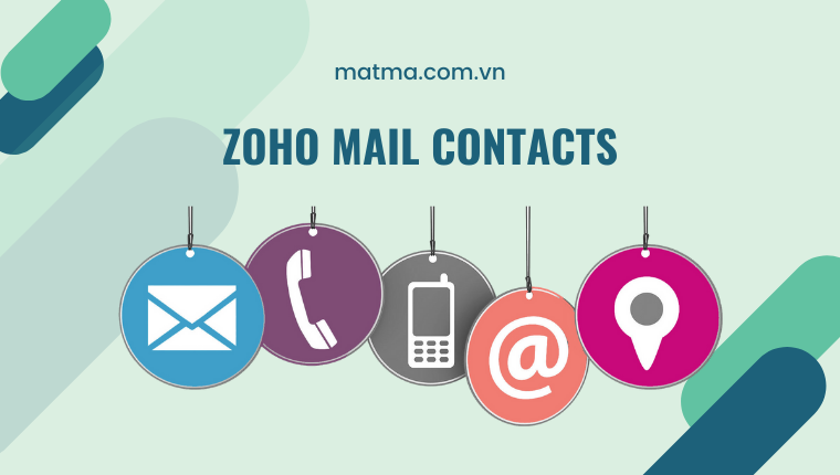 zoho mail contact