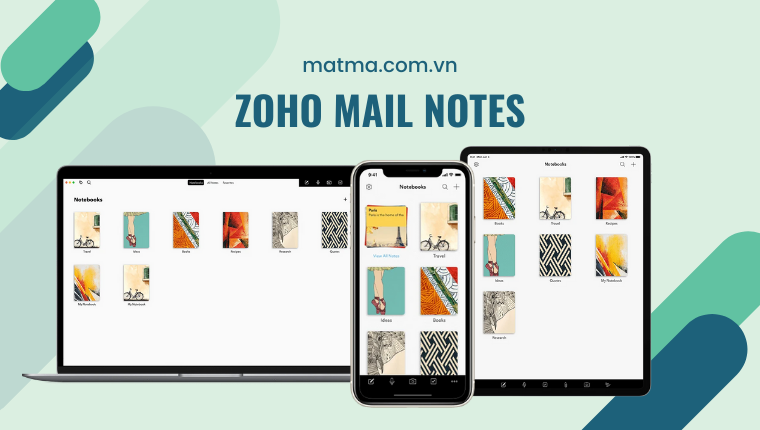 zoho mail note