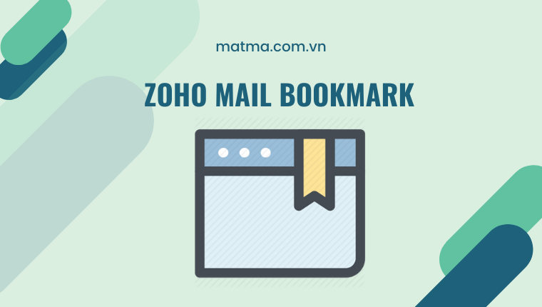 zoho mail bookmark